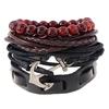 Chaude-Dropshipping-3-4-pcs-ensemble-Vintage-Guitare-Charme-Perle-Bracelet-Pour-Hommes-Femmes-Mode-Bracelets