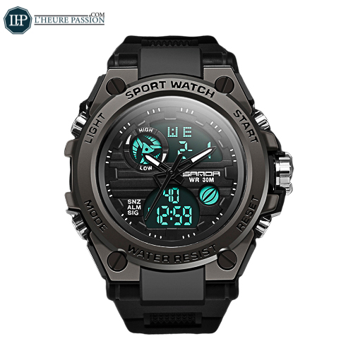Digitale LED-Sport-Herrenuhr