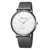 Moderne-De-Mode-Noir-montres-quartz-homme-femme-Maille-acier-inoxydable-Bracelet-qualit-sup-rieure-d