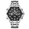 GOLDENHOUR-marque-de-luxe-tanche-Sport-militaire-montres-hommes-argent-acier-num-rique-Quartz-analogique-montre