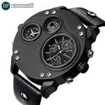 1_Oulm-nouvelle-mode-d-contract-Sport-hommes-montres-en-cuir-noir-double-fuseau-horaire-montre-bracelet