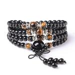 Bracelet-oeil-de-tigre-de-couleur-noire-108-cristal-perle-de-pri-re-Mala-Bracelet-collier