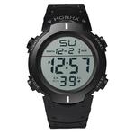 Mode-tanche-hommes-gar-on-LCD-chronom-tre-num-rique-Date-caoutchouc-Sport-montre-lumineuse-montre