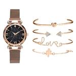 5-pi-ces-ensemble-de-luxe-femmes-montres-magn-tique-ciel-toil-femme-horloge-Quartz-montre