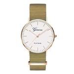 Exquis-simple-sangle-En-Nylon-femmes-montres-de-luxe-de-mode-bracelet-de-quartz-Gen-ve