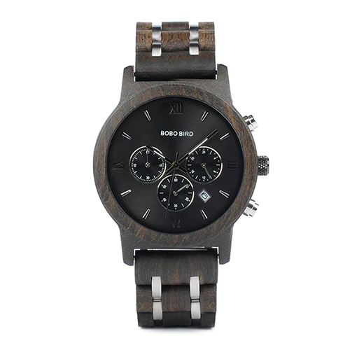 De Luxe Quartz Wood Watches