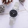 Simple-argent-montres-femmes-bleu-maille-en-acier-inoxydable-bracelet-de-mode-casual-sauvage-quartz-bracelet