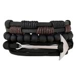 CCD-nouvelle-mode-En-Cuir-Anchor-Bracelets-Bracelet-Hommes-3-4-pi-ces-1-Ensemble-Multicouche
