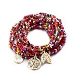 Style-boh-me-vie-d-arbre-laisser-perles-breloque-bracelets-pour-femme-Boho-multicouche-cristal-graine