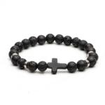 0_Pierre-noire-Nature-pierre-de-lave-perle-croix-bracelets-porte-bonheur-bracelets-pour-hommes-m-le