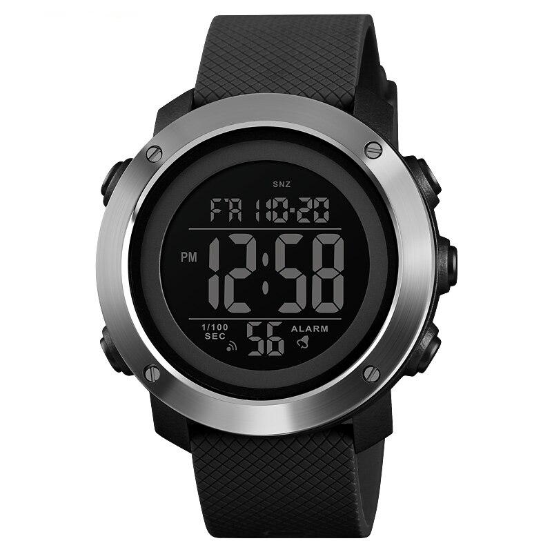 Relógios digitais impermeáveis para homem