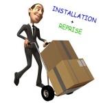 Installation à votre domicile de votre divan d'examen et reprise de votre ancien matériel