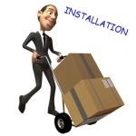 Installation à votre domicile de votre divan d'examen