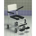 Chaise de douche mobile Invacare Revato avec assise rembourrée