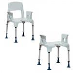 Tabourets et chaises de douche Invacare Pico
