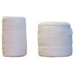 Coton hydrophile et hydrophobe roulé
