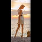 Mi-bas/Chaussettes de contention Femme