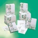 Compresses de gaze stériles 8 plis emballées par 5