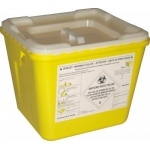 Fûts en polypropylène jaune