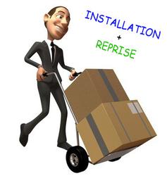 Installation à domicile + reprise
