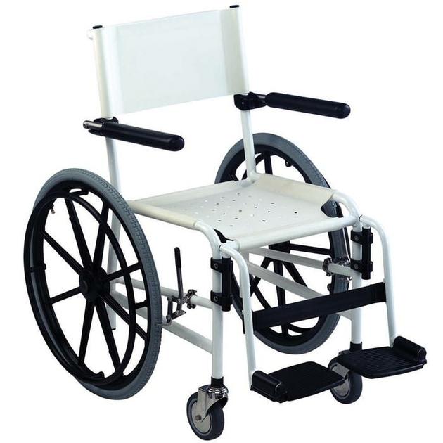 fauteuil roulant de douche avec assise souple invacare revato. Black Bedroom Furniture Sets. Home Design Ideas