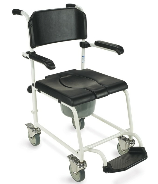 chaise de douche mobile invacare cascade. Black Bedroom Furniture Sets. Home Design Ideas