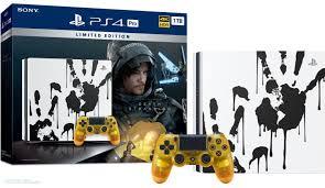 PS4 Pro 1To Death Stranding Édition spéciale + Death Stranding