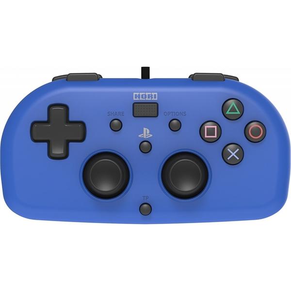 Manette Mini Filaire Bleu PS4
