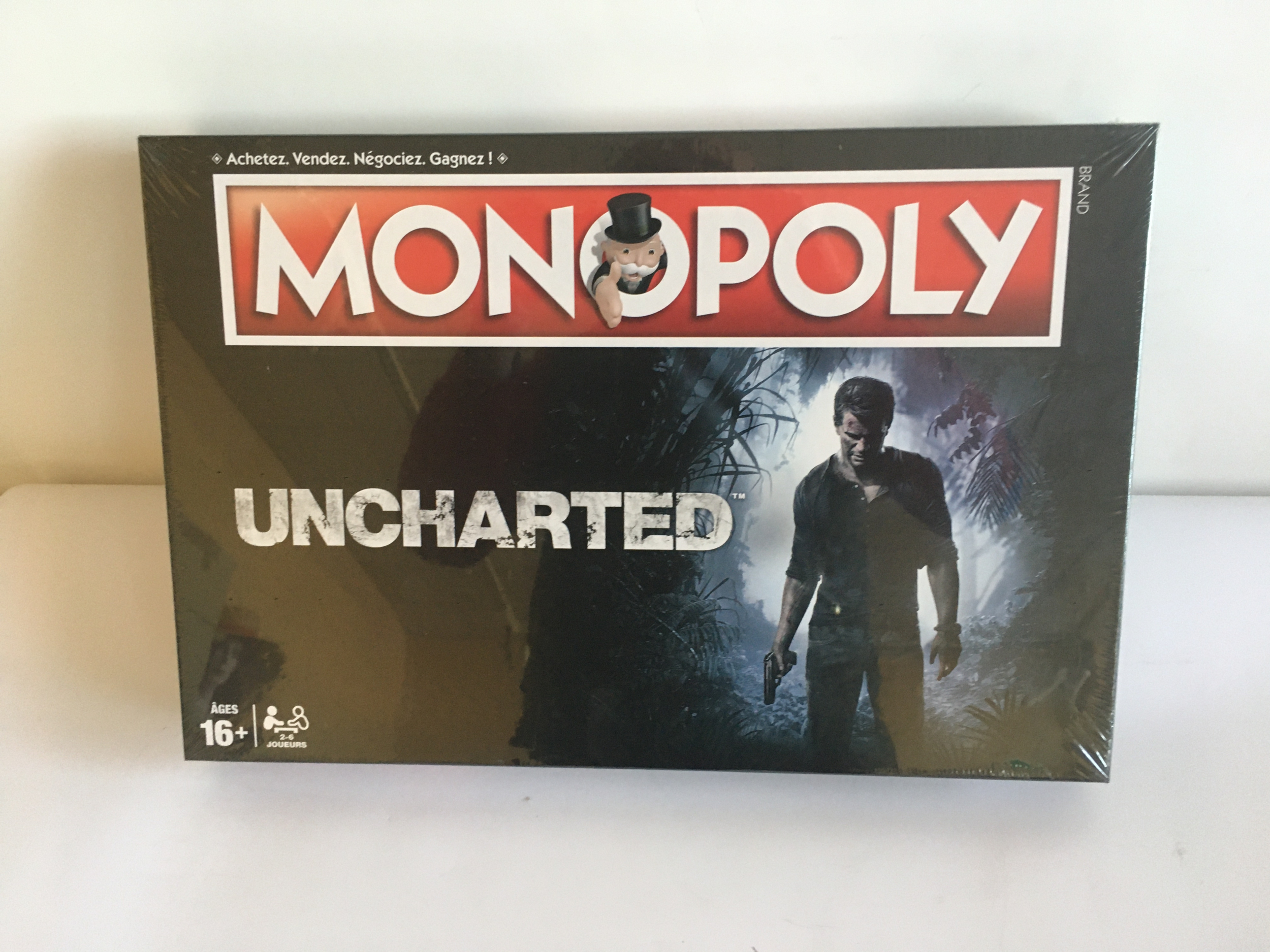 MONOPOLY UNCHARTED WINNING MOVES