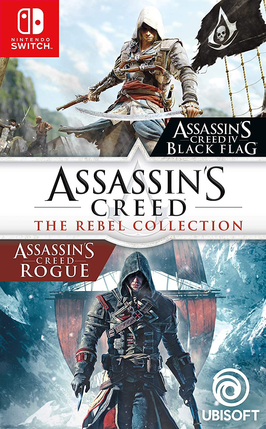 Assassin\'s Creed Black Flag + Rogue Remastered Nintendo Switch