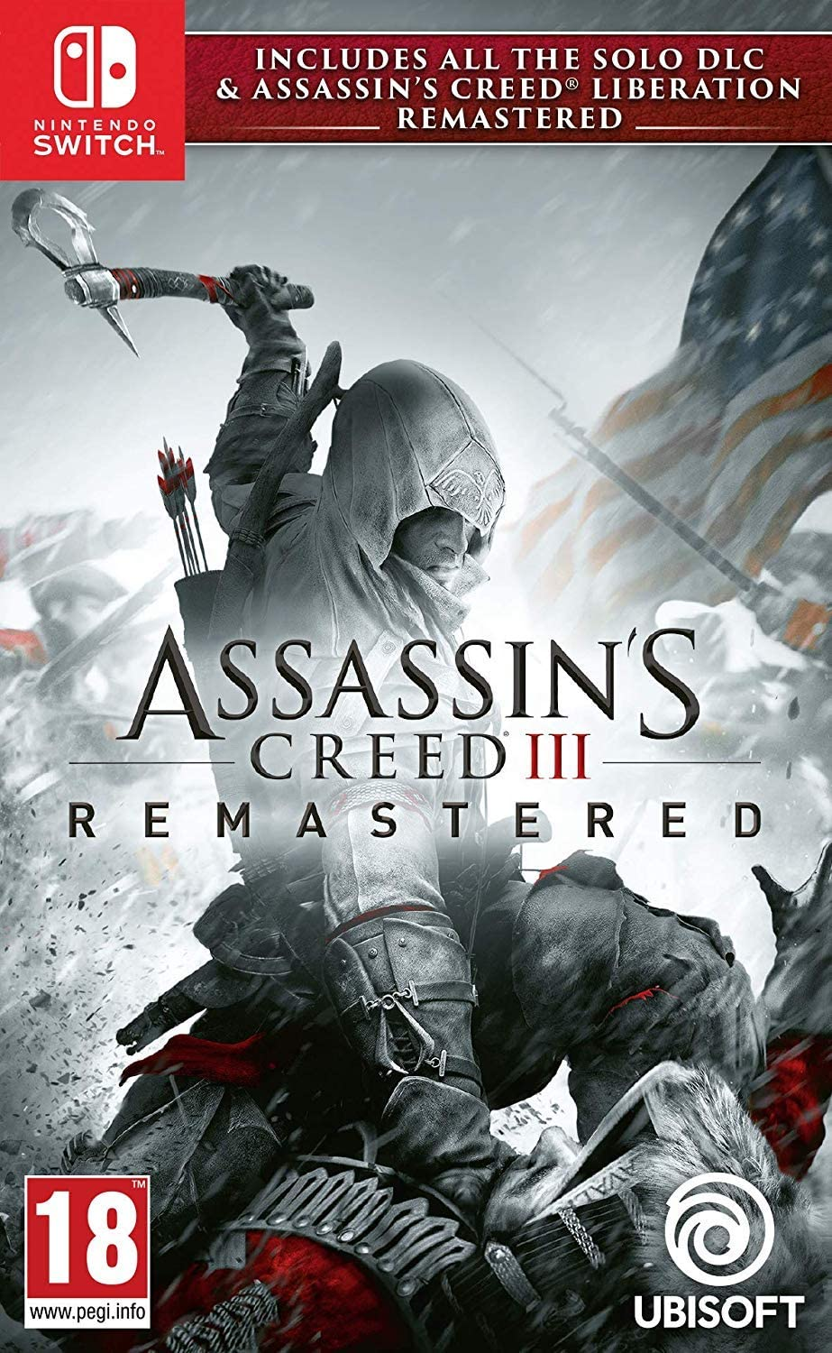 Assassin\'s Creed 3 + Assassin\'s Creed Liberation Remastered Nintendo Switch