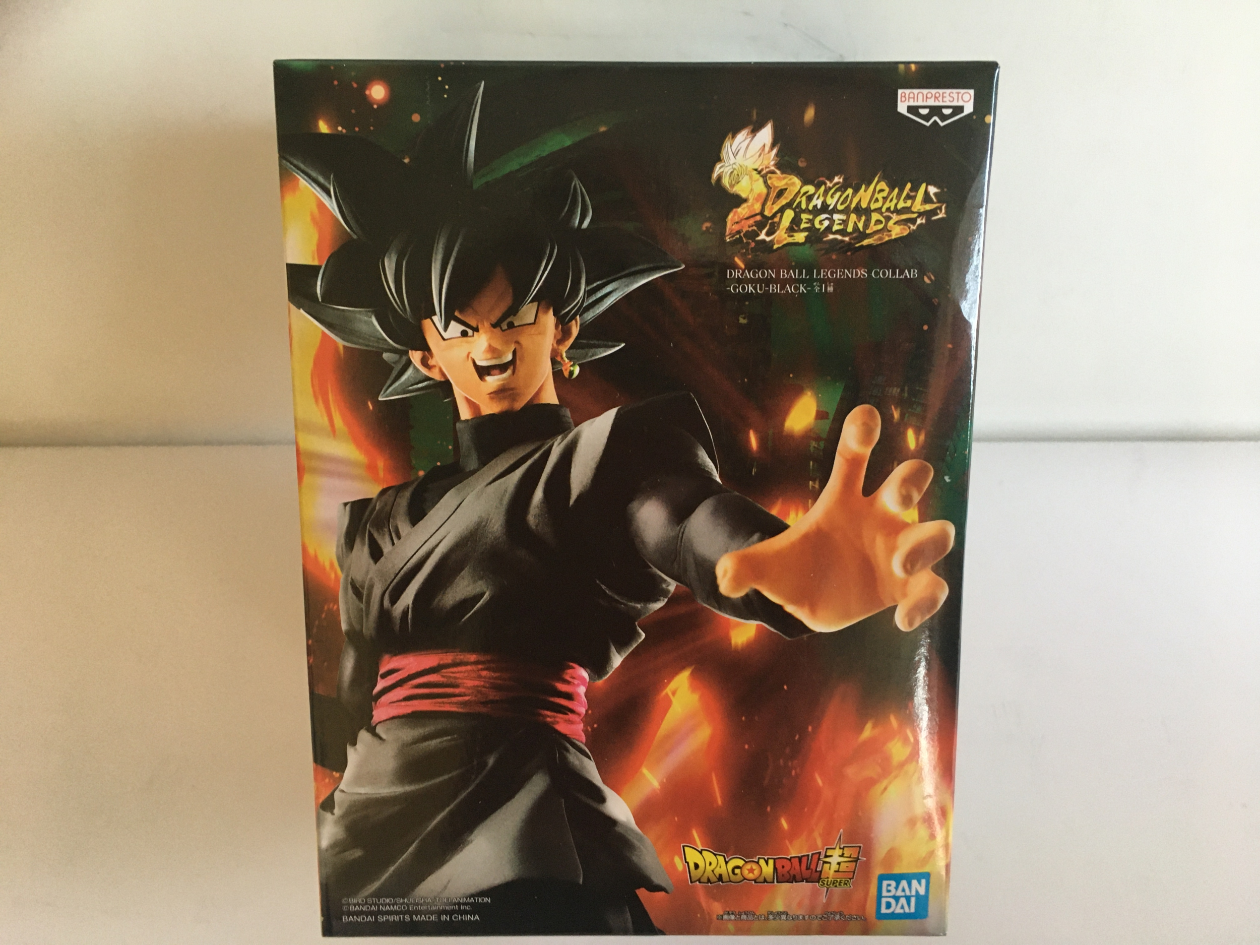 DRAGON BALL - Figurine de Collection Son Goku Black 23cm