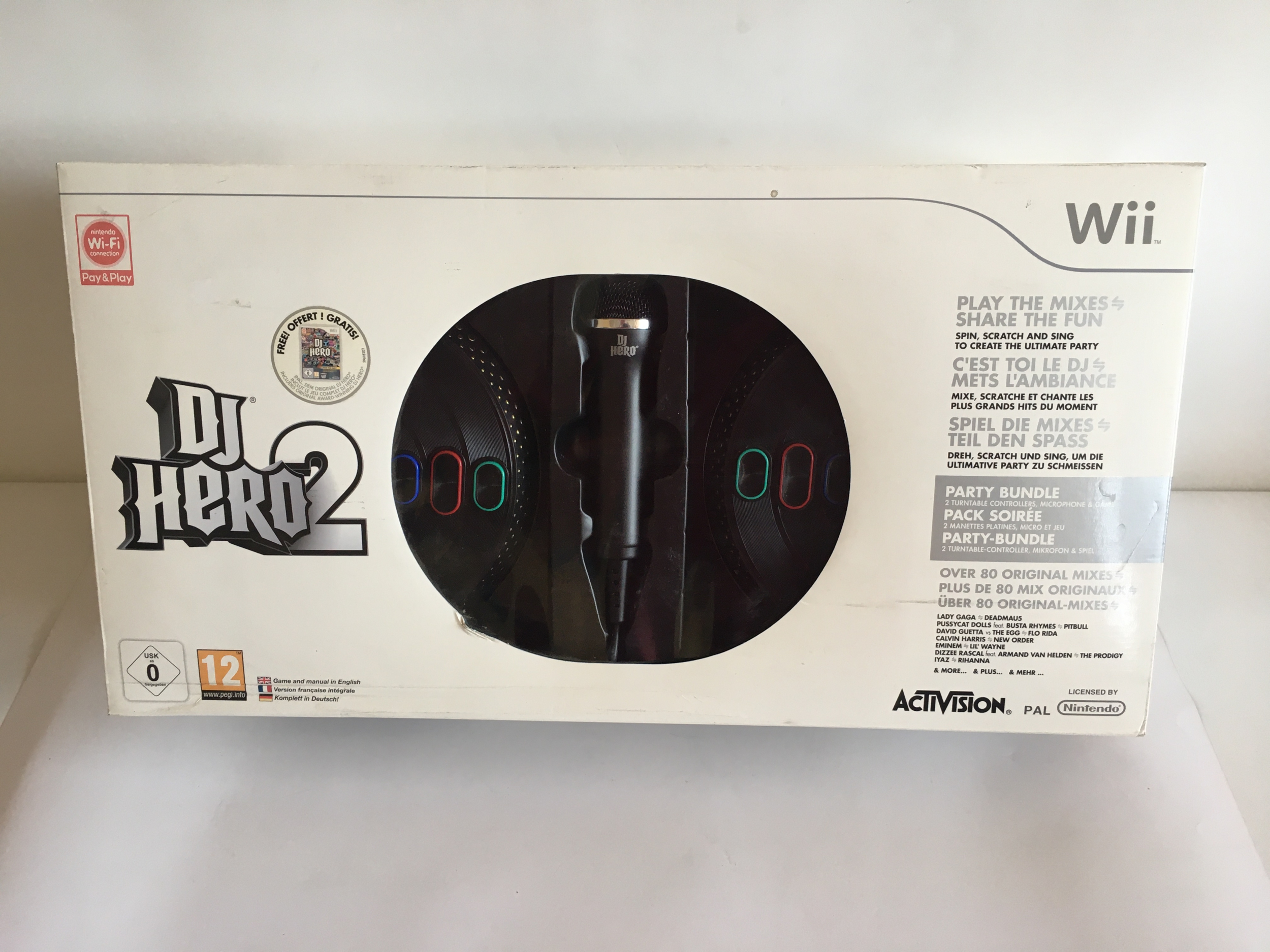 DJ Hero 2 Party Pack - Wii