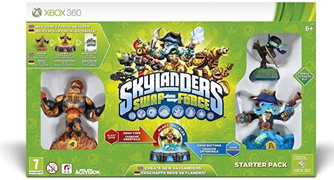 Pack de Démarrage Skylanders Swap Force Xbox 360