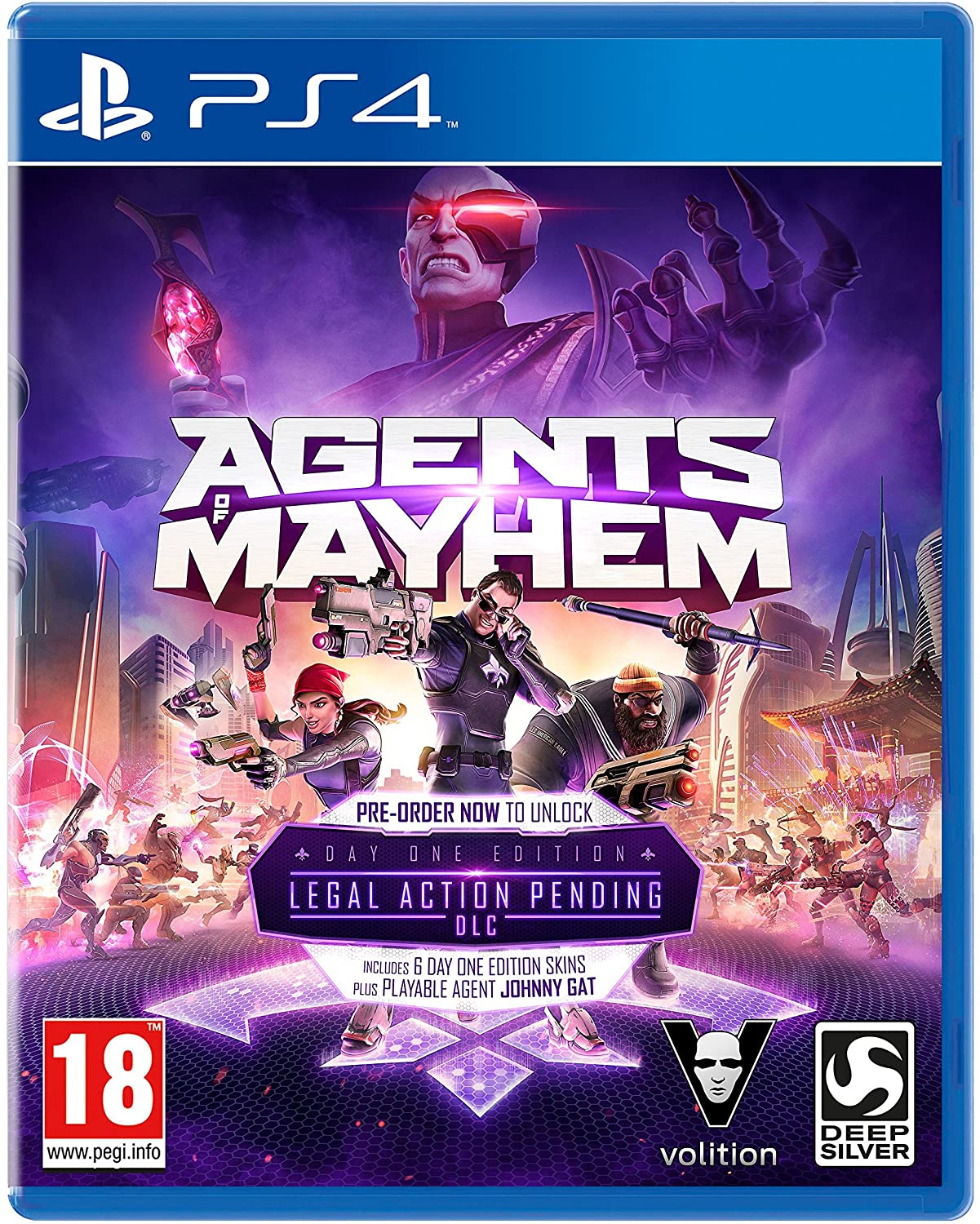 Agents of Mayhem PS4 occasion