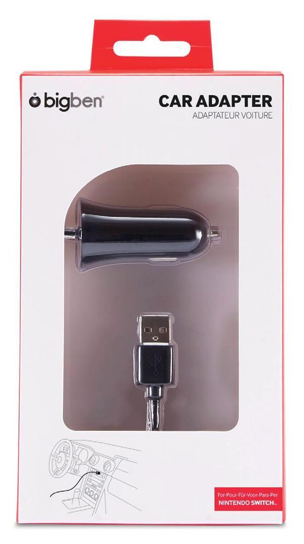 Adaptateur voiture USB C Nintendo Switch
