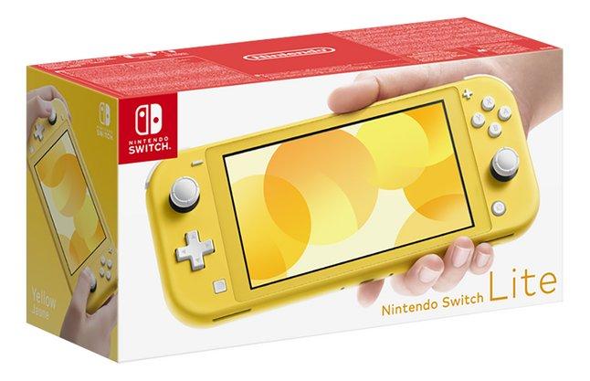 Console Nintendo Switch Lite Jaune