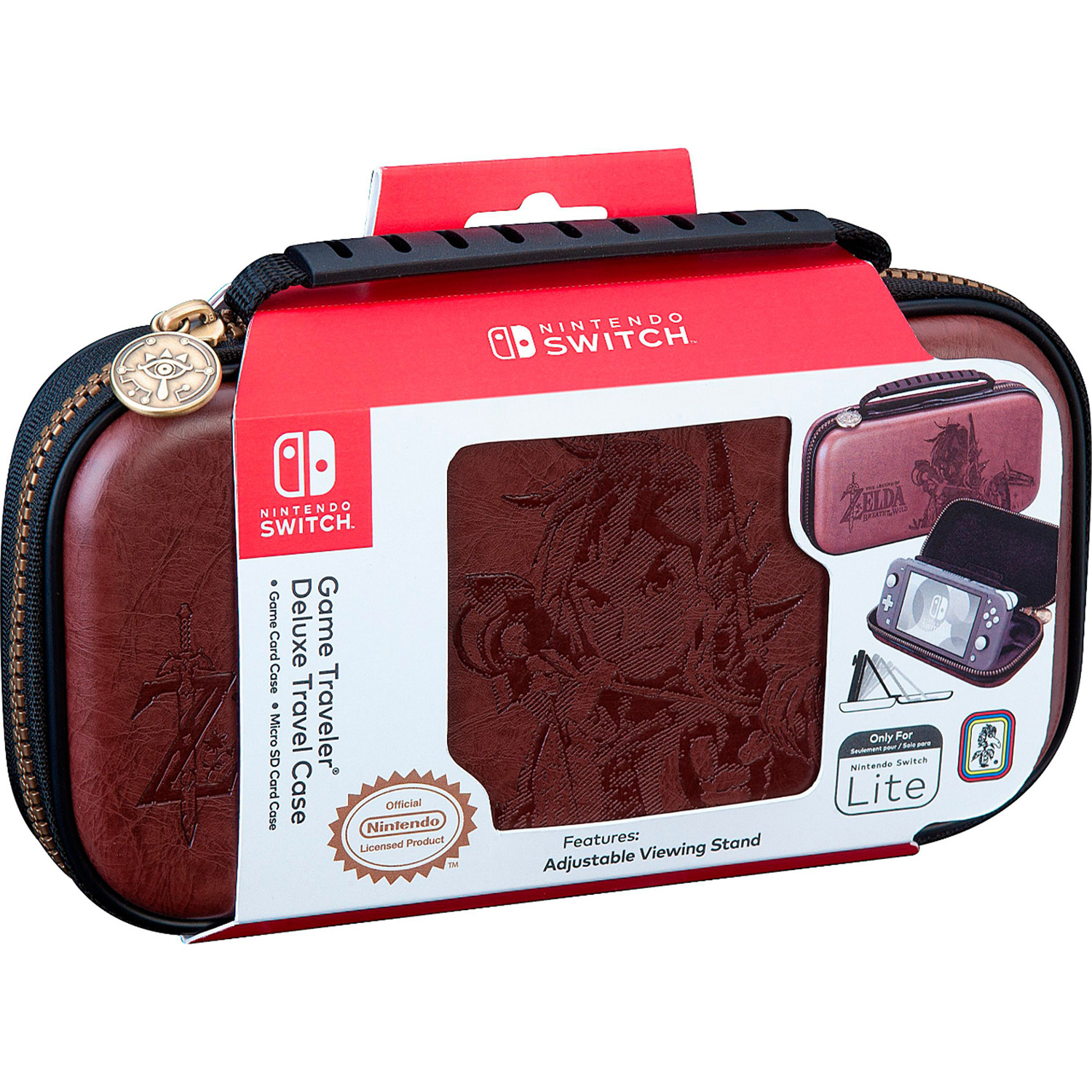 Etuit de transport Premium The Legend of Zelda Breath of the Wild Nintendo Switch Lite