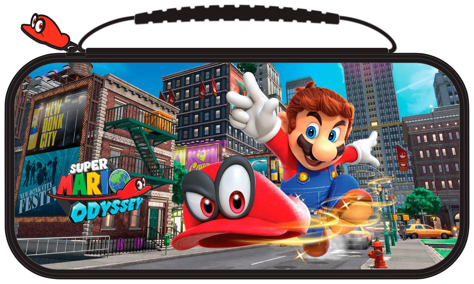 Etuit de Transport Super Mario Odyssey Nintendo Switch