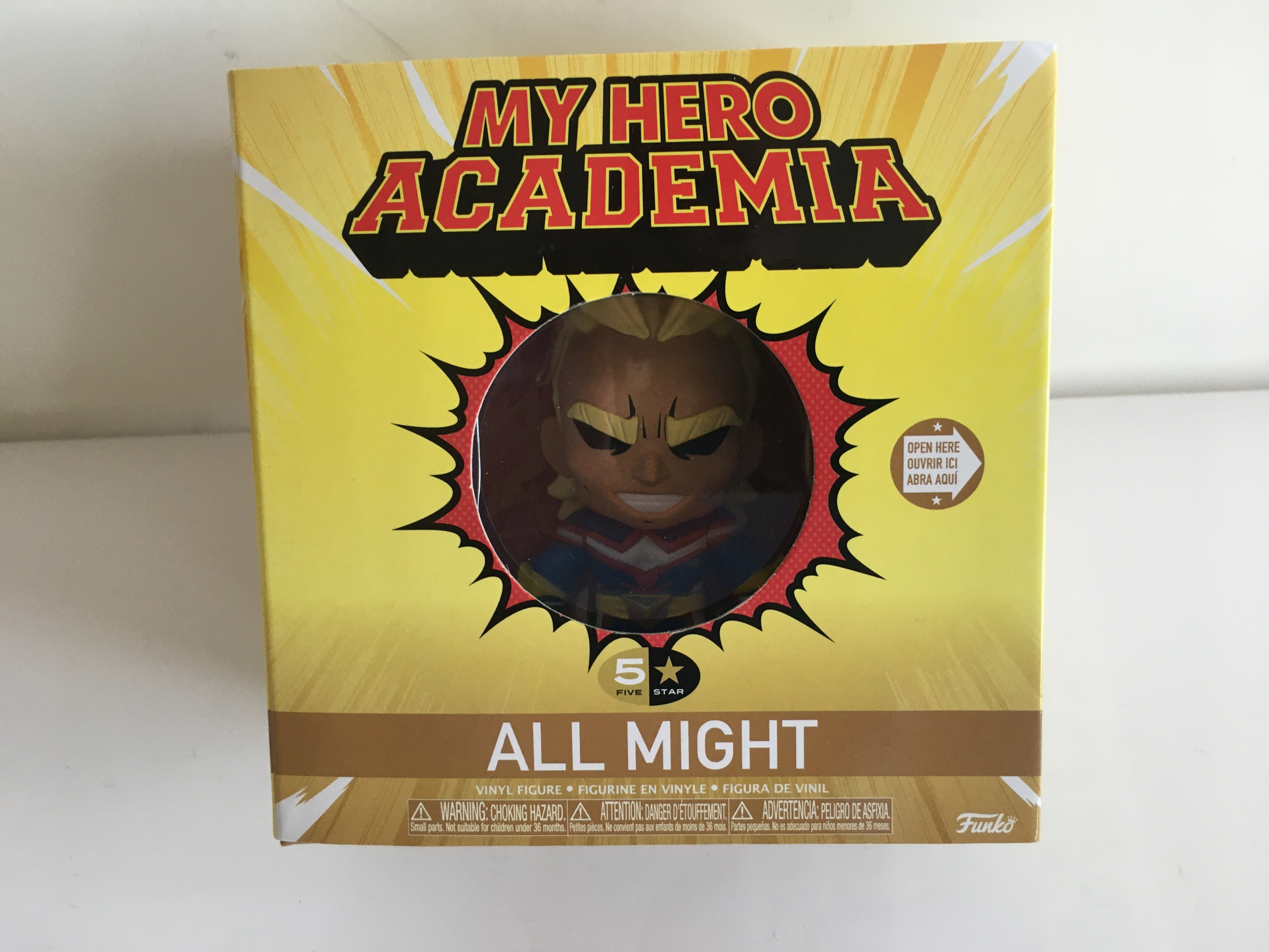 My Hero Academia - Figurine 5 Star : All-Might