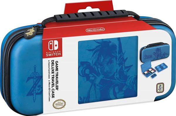 Etuit de transport Premium The Legend of Zelda Breath of the Wild Bleu Nintendo Switch