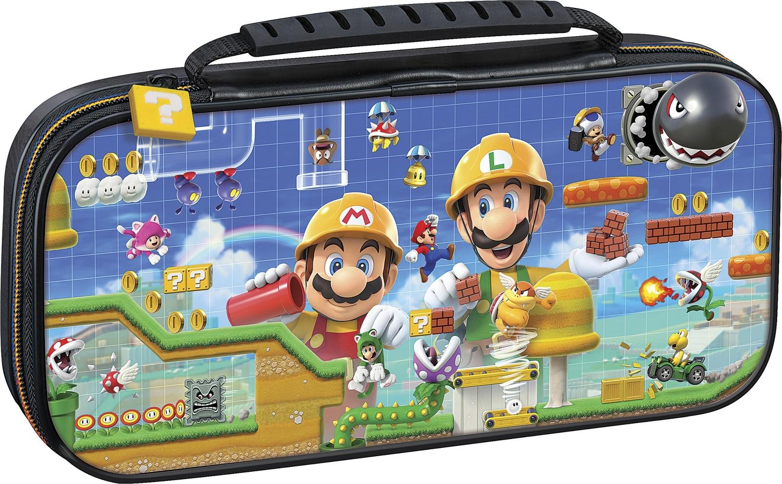 Etuit de Transport Super Mario Maker Nintendo Switch