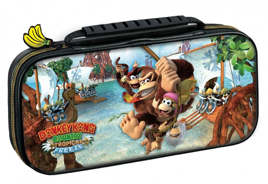 Etuit de Transport Donkey Kong Country Tropical Freeze Nintendo Switch