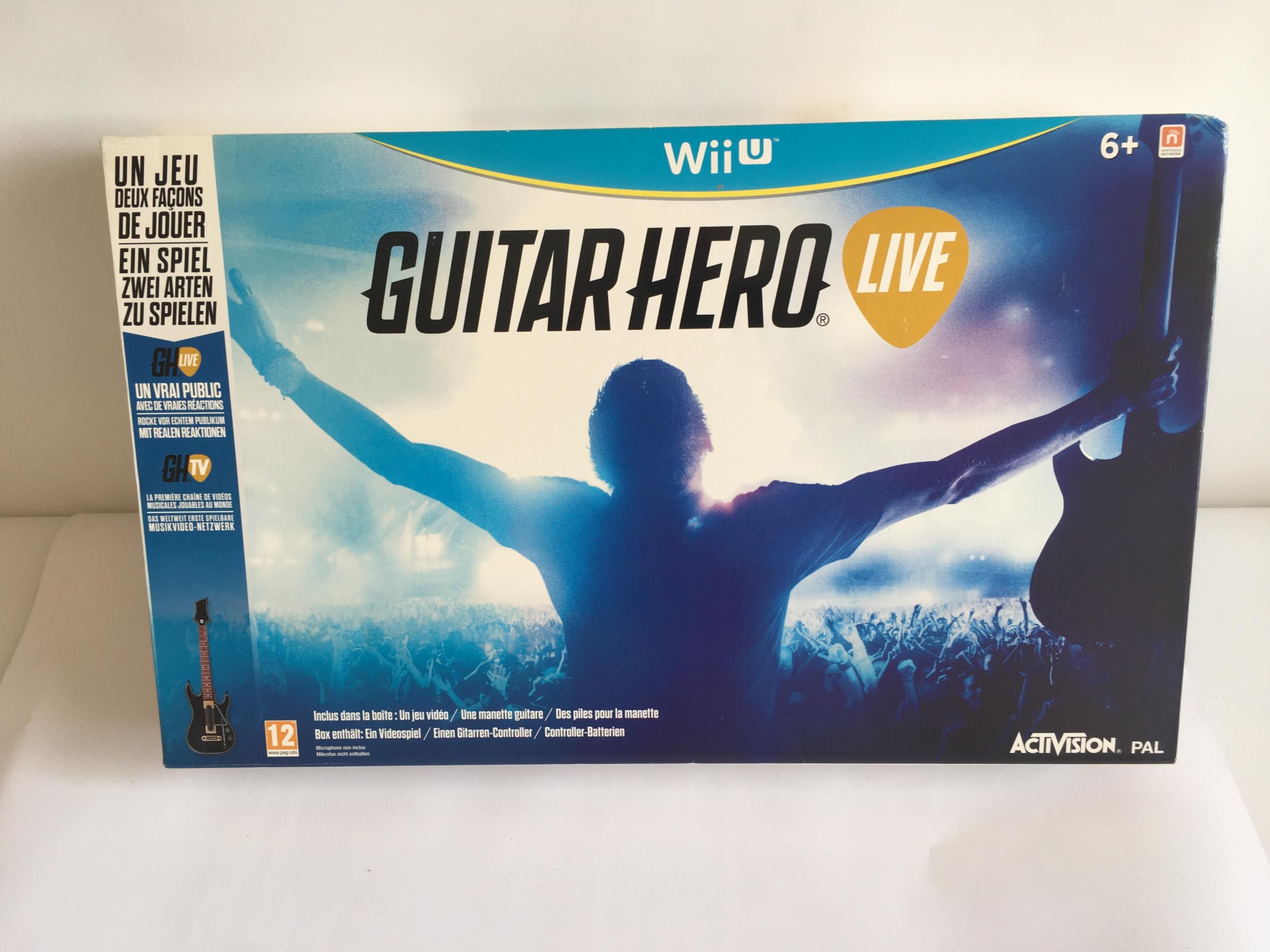 Guitar Hero Live Jeu Wii U