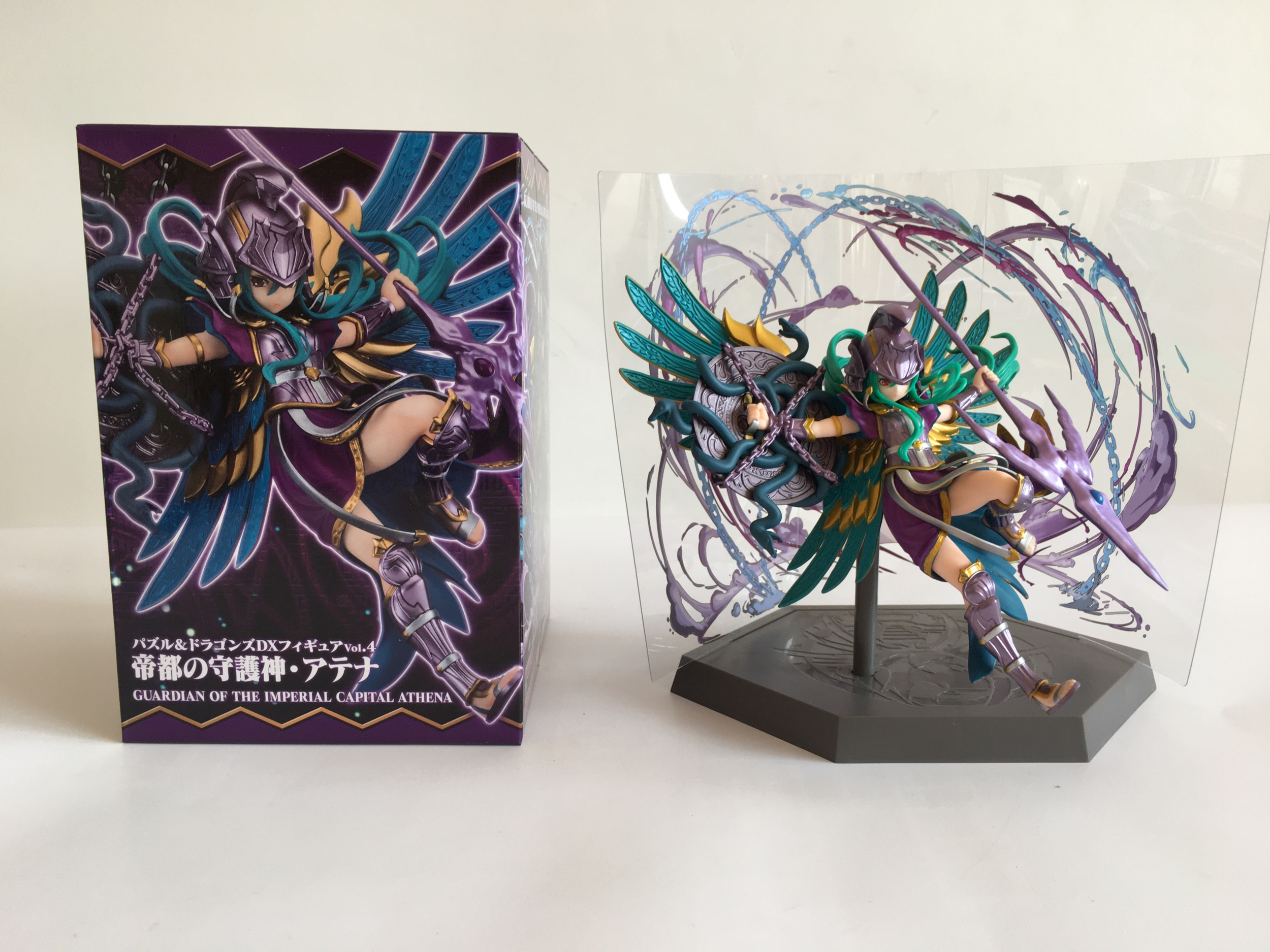 Puzzle & Dragons DX Figure Vol.4 - Guardian of the Imperial Capital Athena