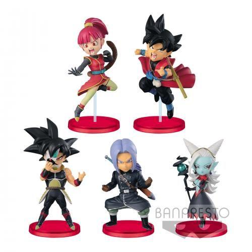 Figurine Mystère WCF - Super Dragon Ball Heroes - 7th Anniversary - lot de 5 figurines