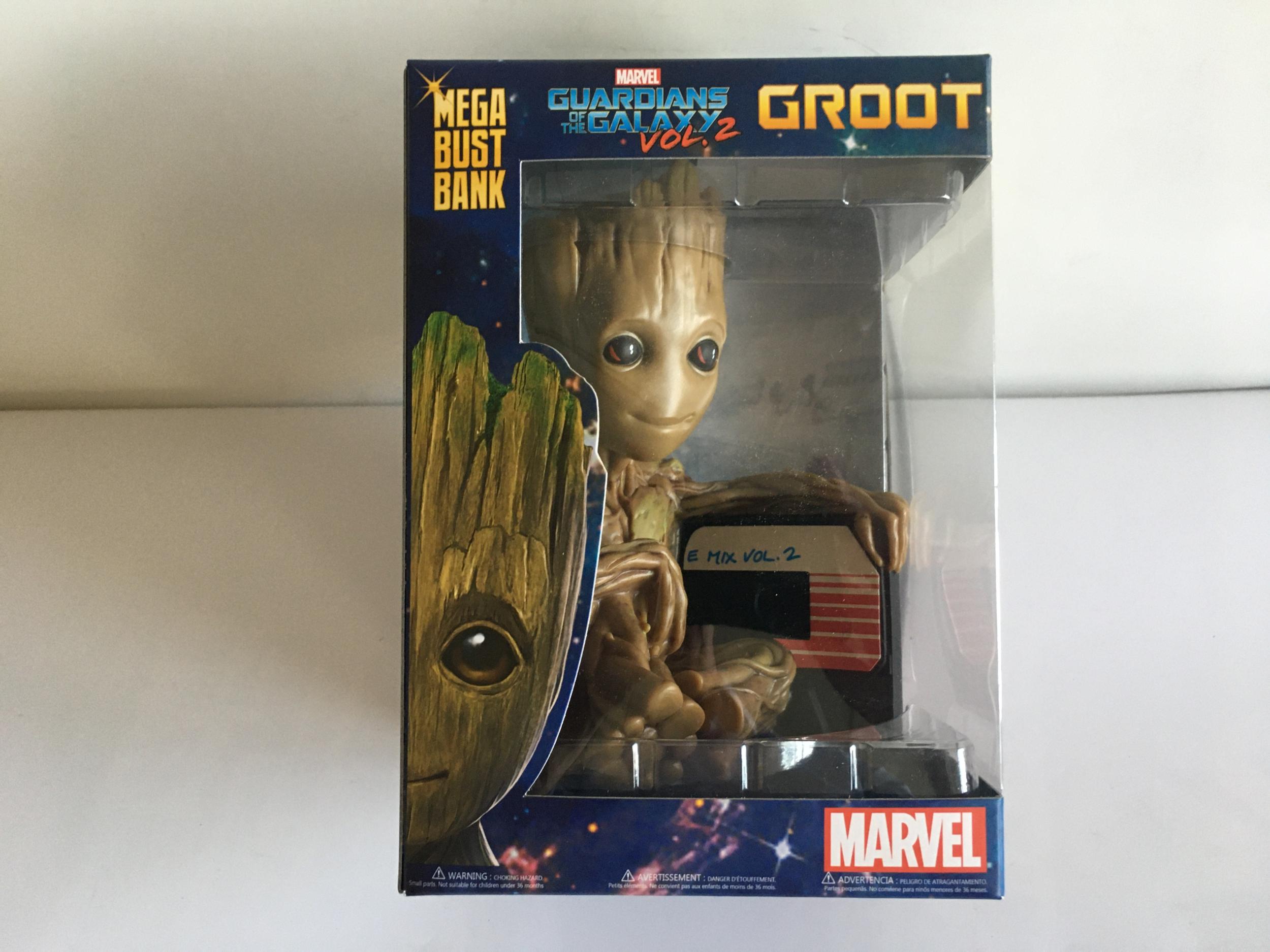 Tirelire baby groot Marvel - 25 cm