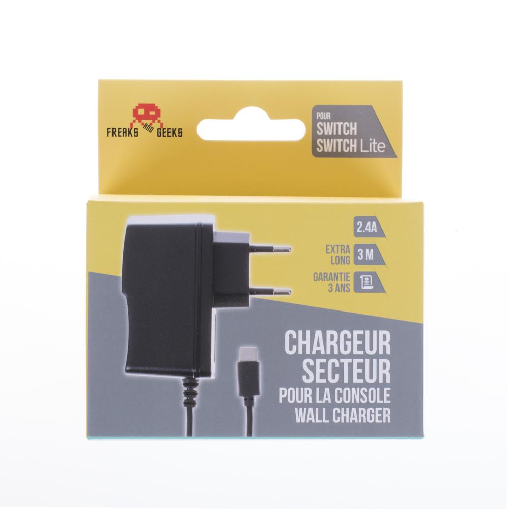 Chargeur Secteur Console Nintendo Switch