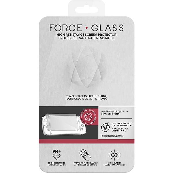 Kit Protection d\'Ecran Force Glass Nintendo Switch