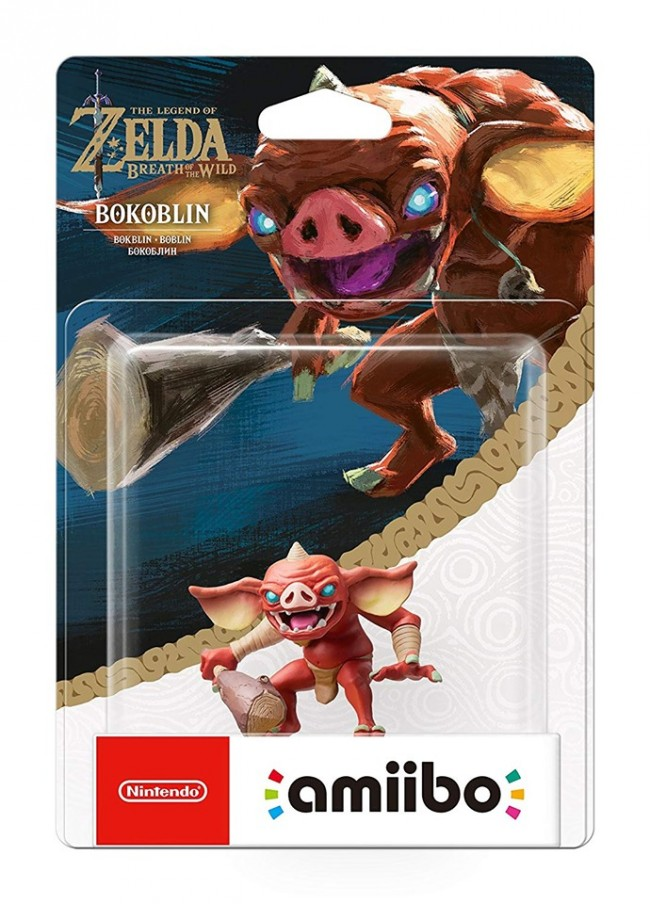 Amiibo Bokoblin The Legend of Zelda Breath of the Wild